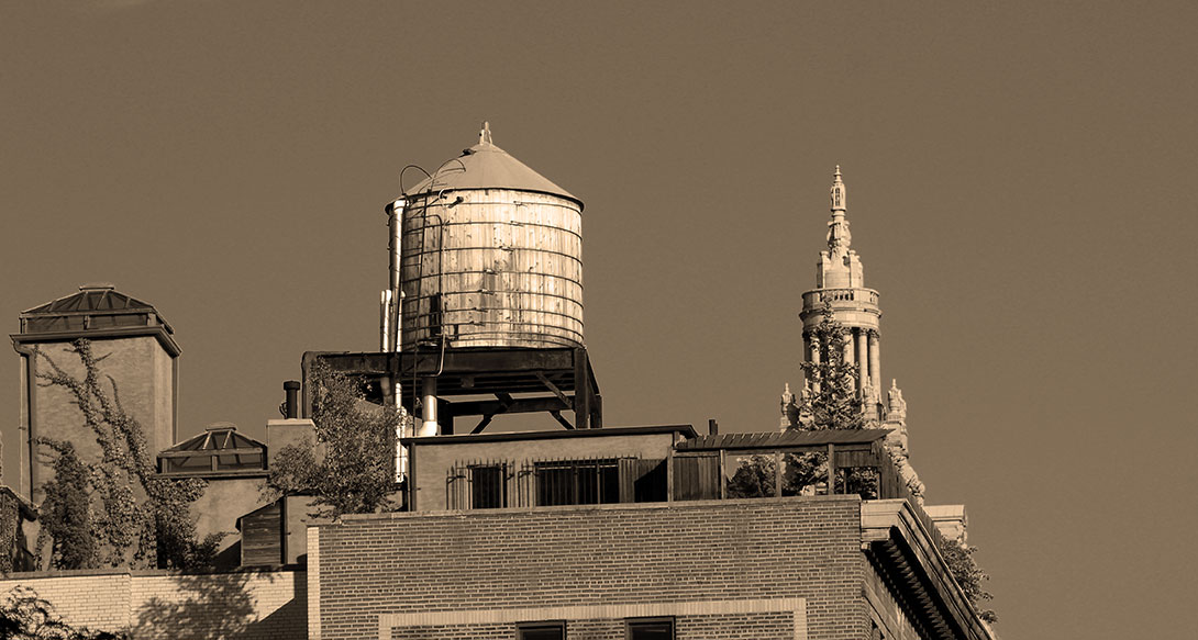 Upper West Side Water Tower